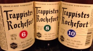 The Rochefort Flight – A Trio of Belgian Trappist Ales