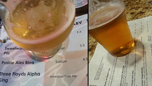 Three Floyds Alpha King APA & BrooDoo IPA