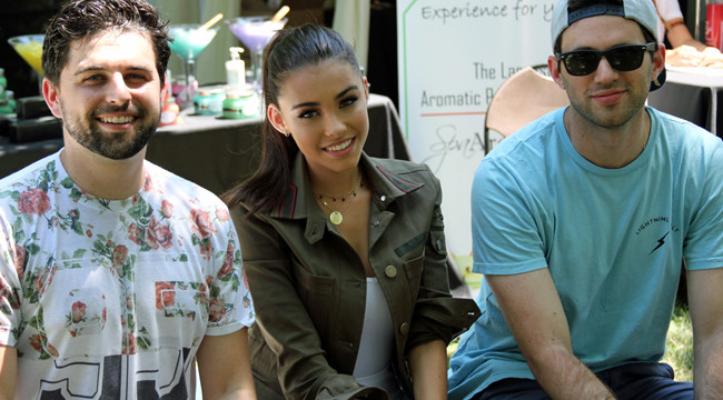 Mako with Madison Beer at Lollapalooza