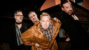 Public Image Ltd., photo by Paul Heartfield