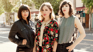 Sleater-Kinney, photo by Brigitte Sire Sleaterkinney Credit: Brigitte Sire