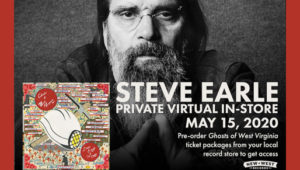 Steve Earle Photo by Jacob Blickenstaff